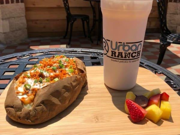 Urban Ranch baked potato