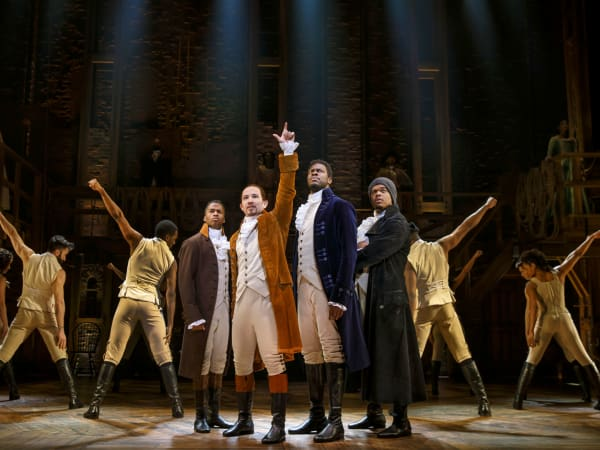 2018 touring cast of Hamilton