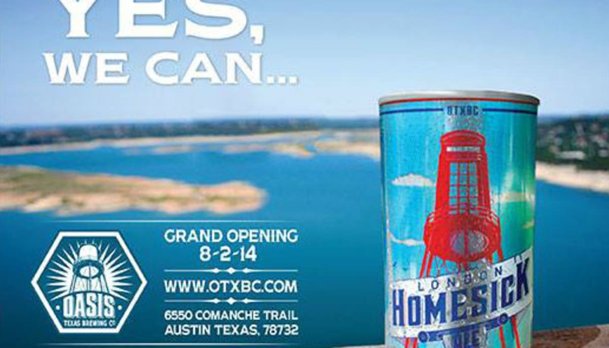 Grand Opening of the Oasis Texas Brewing Company - Event -CultureMap ...