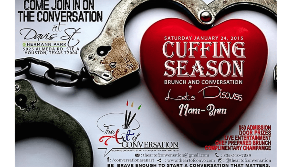 The Art Of Conversation Cuffing Season Brunch And Conversation
