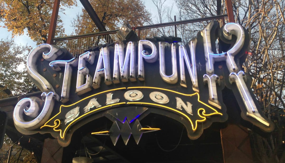 New Steampunk Saloon on West Sixth Street is causing quite a stir