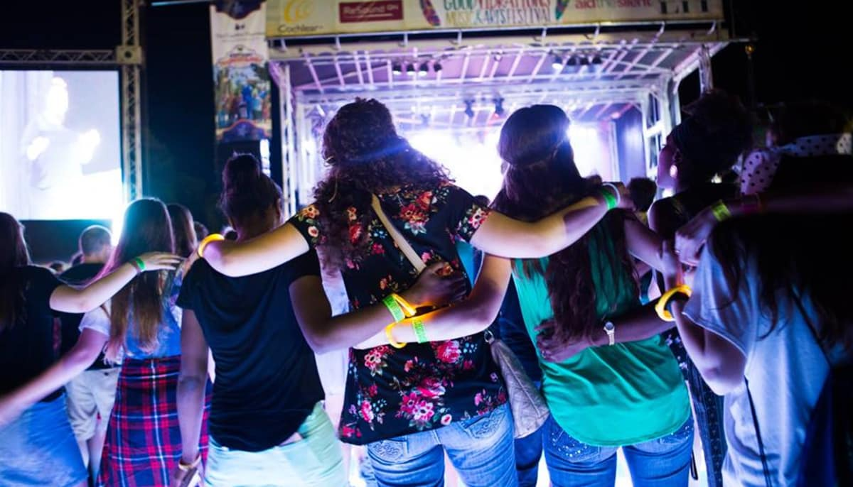 Inclusive music festival for hearing impaired brings good vibes back to San Antonio