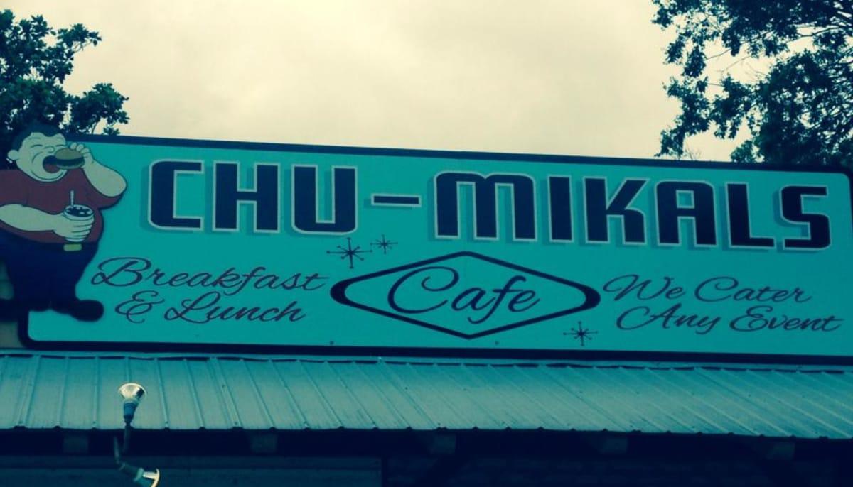 Chu-Mikal's Austin sign