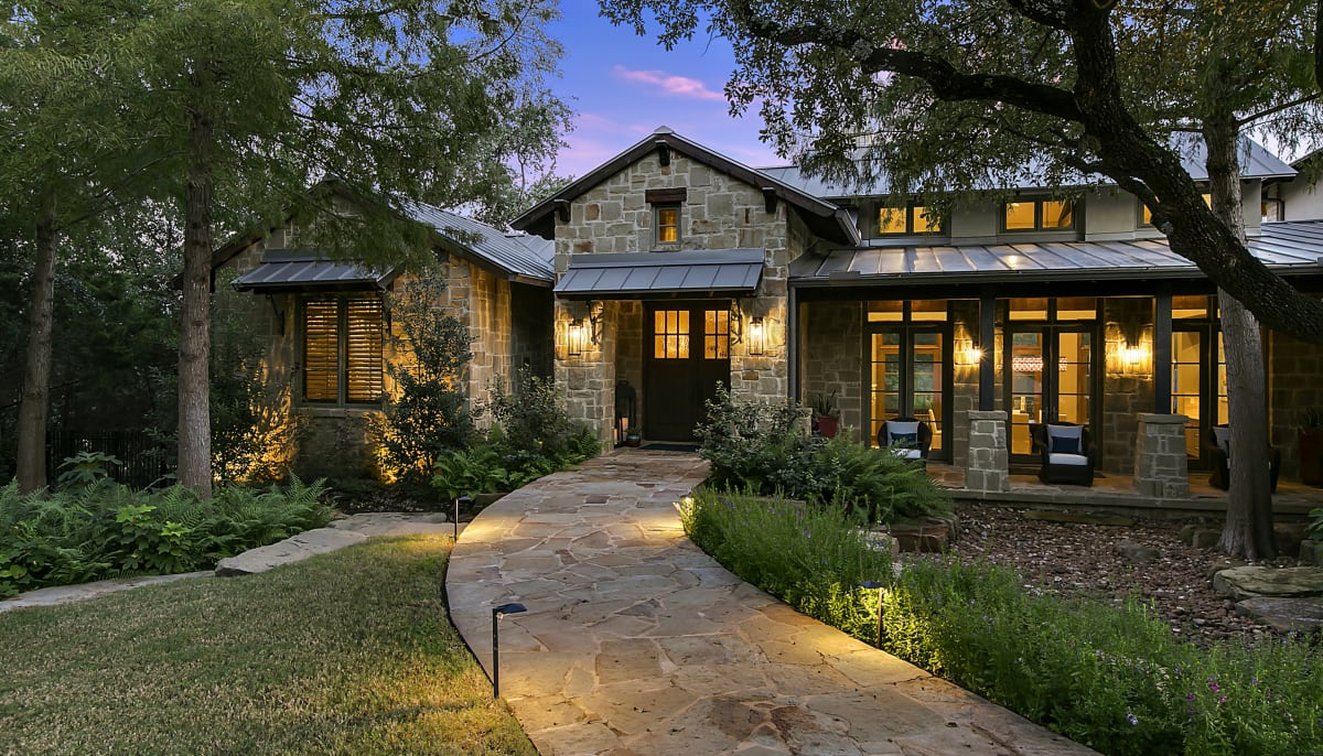 Storybook Hill Country home comes complete with outdoor oasis