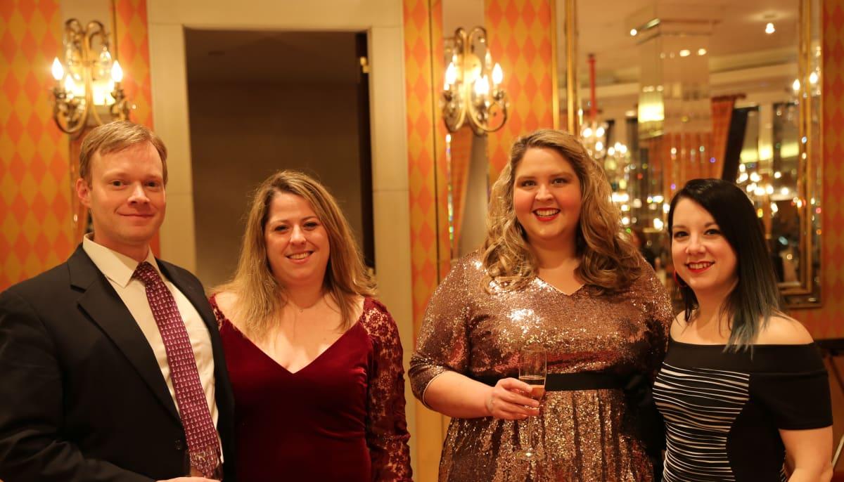 Brian Smith, Nicolle Duvall, Anne Wright and Barbara Jordan