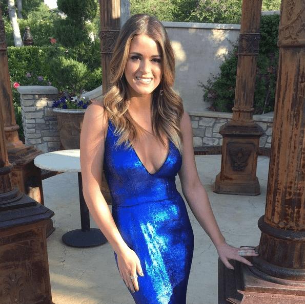 Jay Godfrey/JoJo Blue Dress
