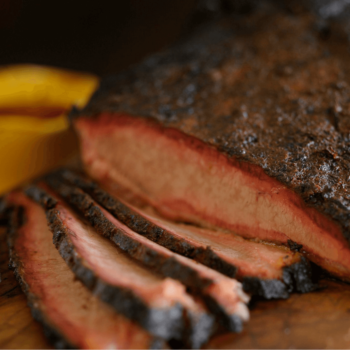Brisket at Pecan Lodge in Dallas