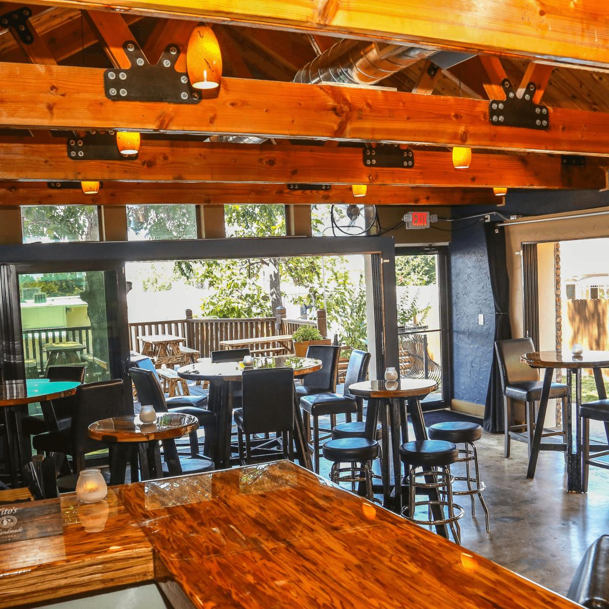 Revelry Kitchen + Bar interior