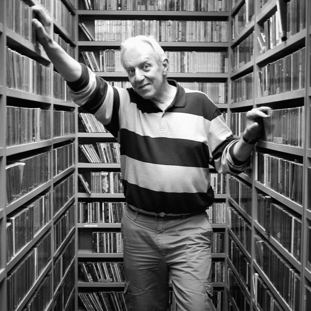 John Aielli radio DJ KUT CD music library