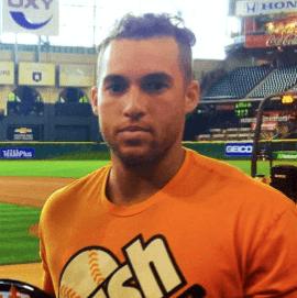 Houston, Running Game Clothing, September 2016, George Springer in Orange Crush tee