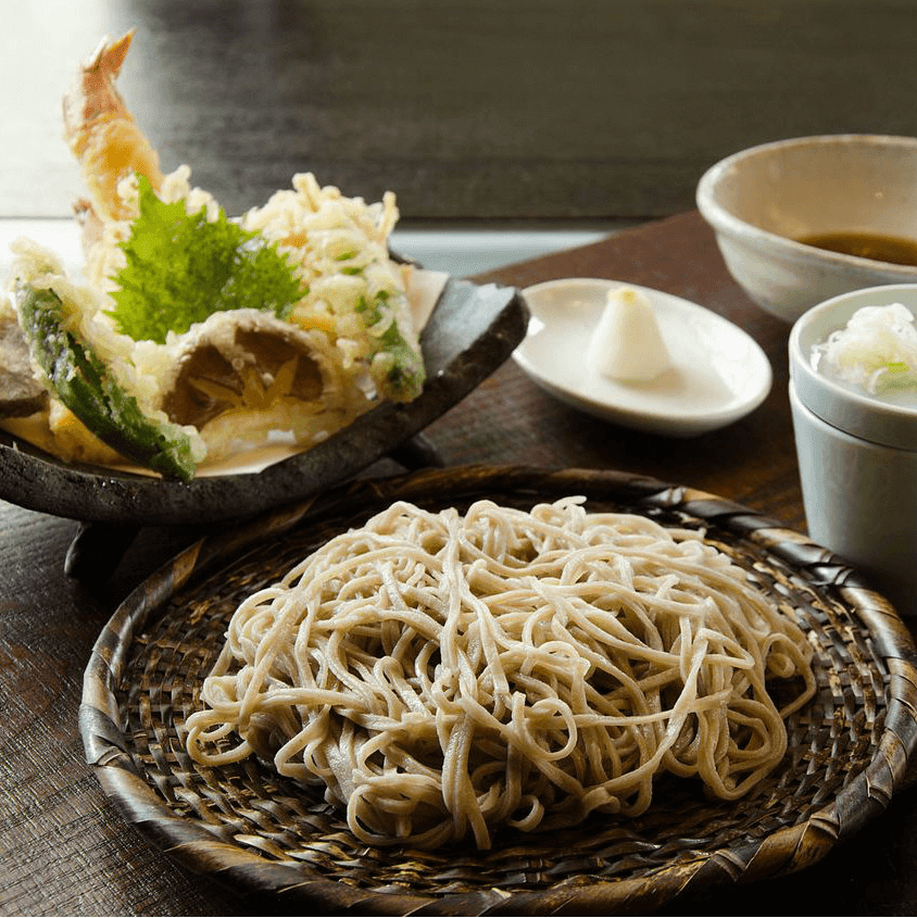 Noodles tempura from Tei-An restaurant in Dallas