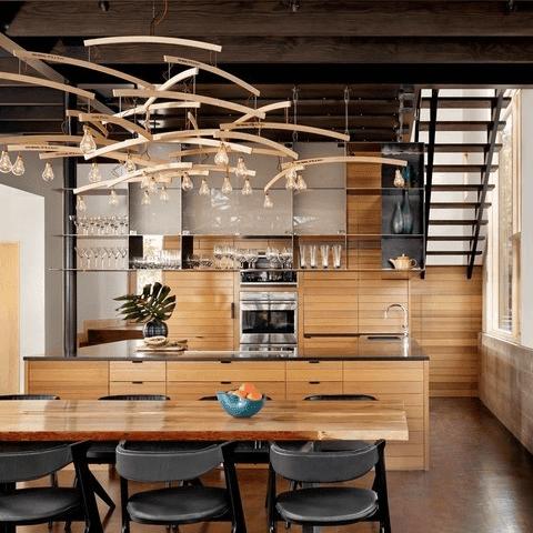 Austin house home Houzz modern Lake Austin kitchen