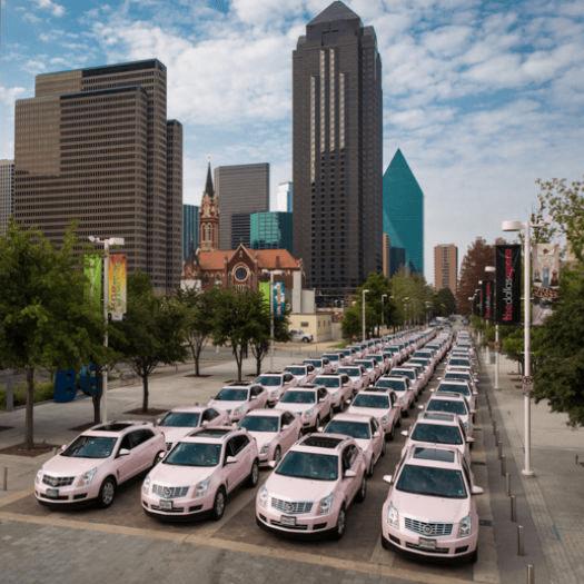 Mary Kay pink Cadillacs