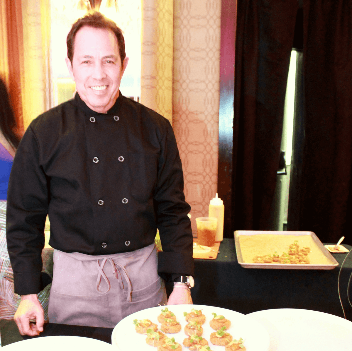 Chef Richard Kaplan at Recipe for Success Gala