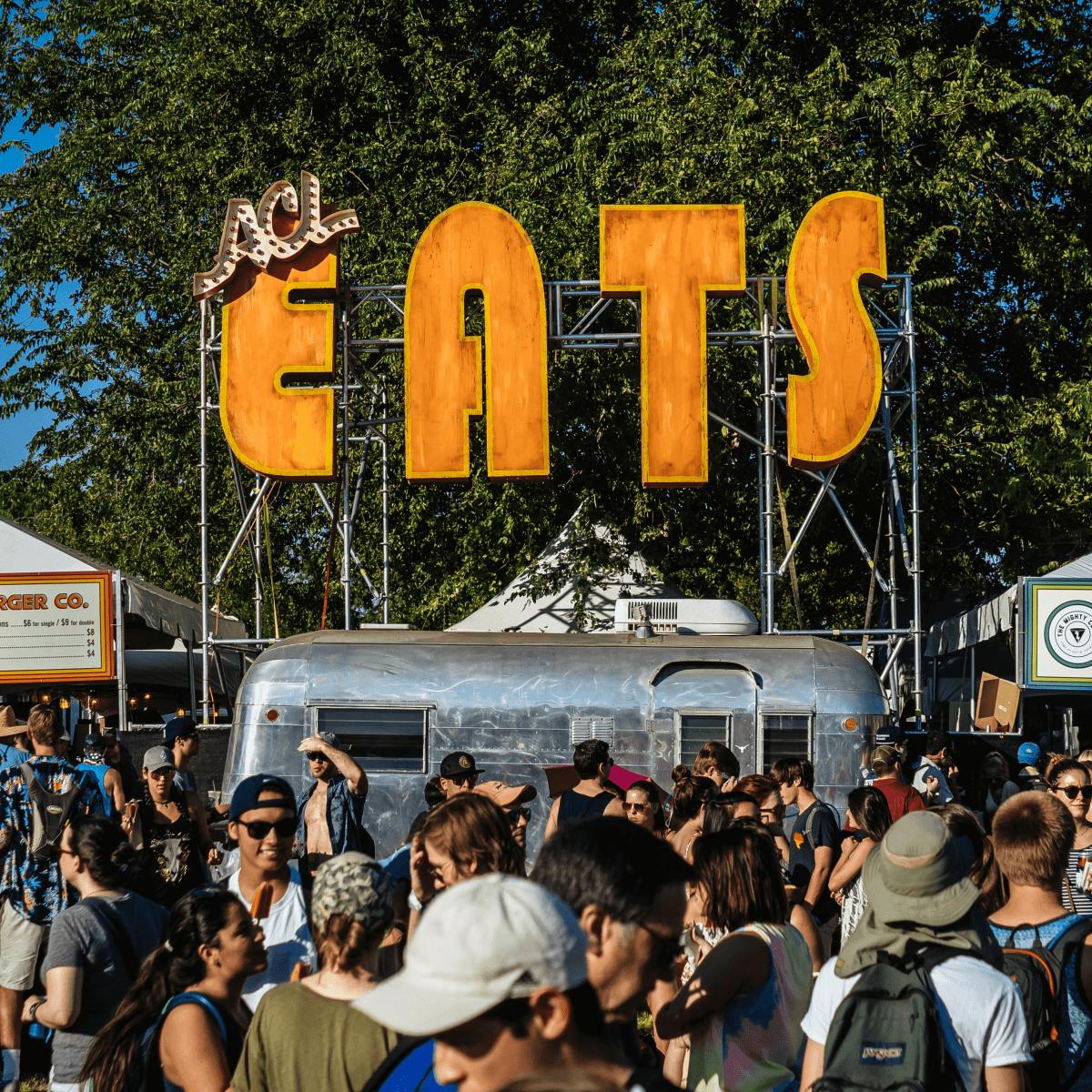 ACL Eats food court Austin City Limits Music Festival 2016