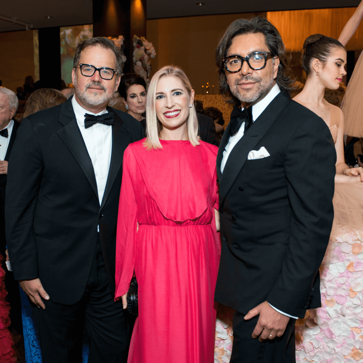 Ceron, Isabel David, Todd Fiscus at Museum of Fine Arts Grand Gala