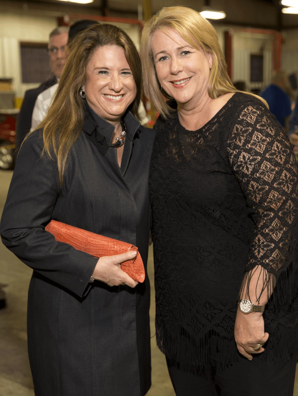 Houston, Art of Conversation kick off, Oct. 2016, Deborah Colton, Stacey Swift