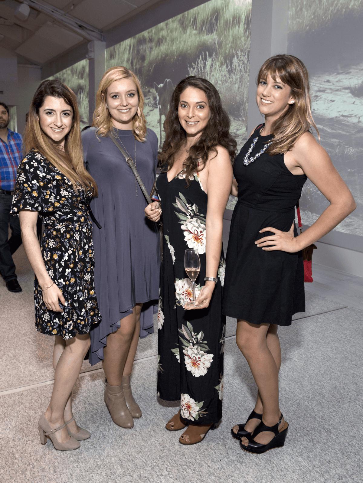 Houston, Australia Tourism event, Oct. 2016, Annemarie Schwendler, Natalie Harms, Lisa Cohen, Allie Schratz