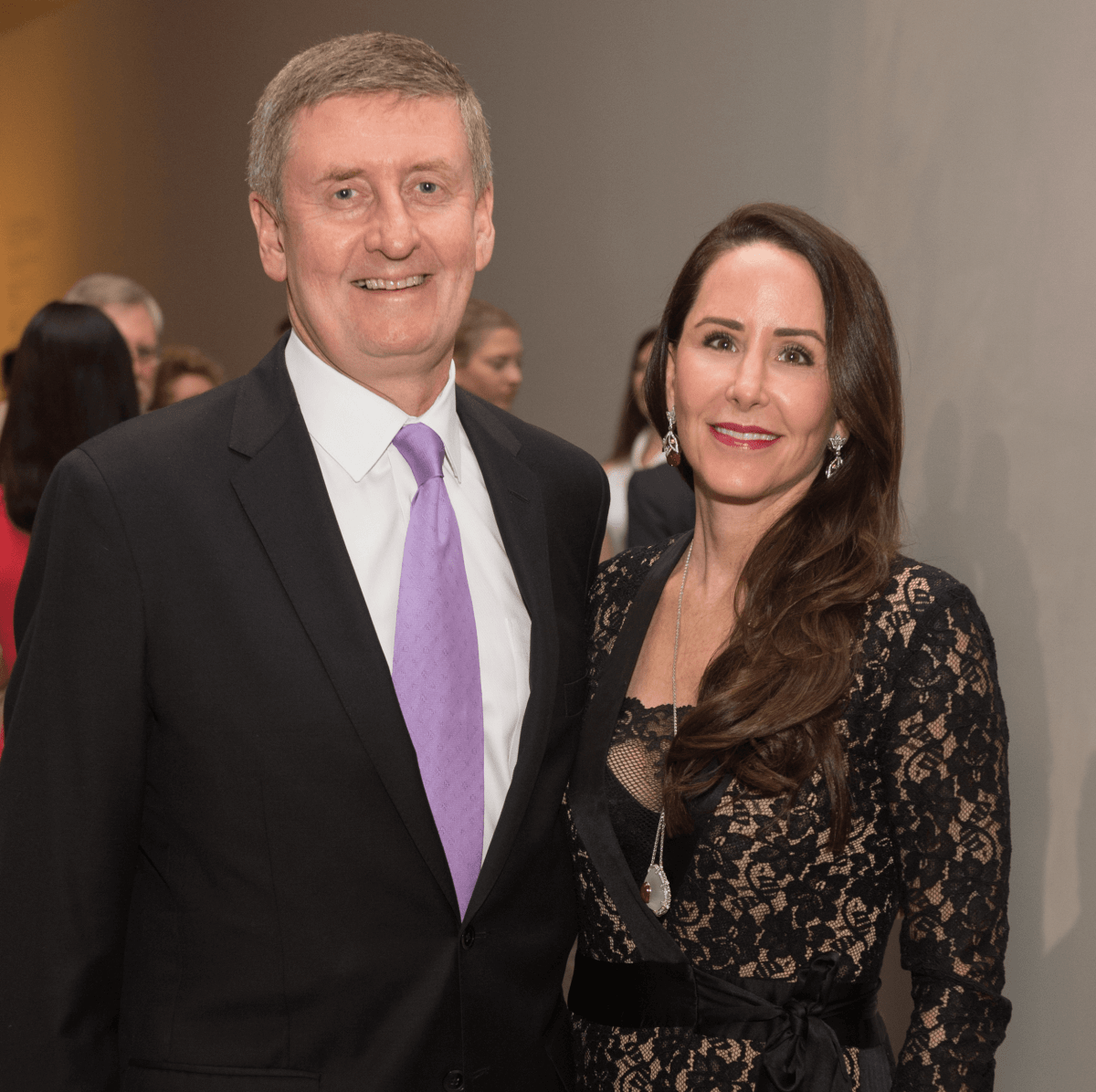 Degas Opening Dinner: Tom and Liz Glanville