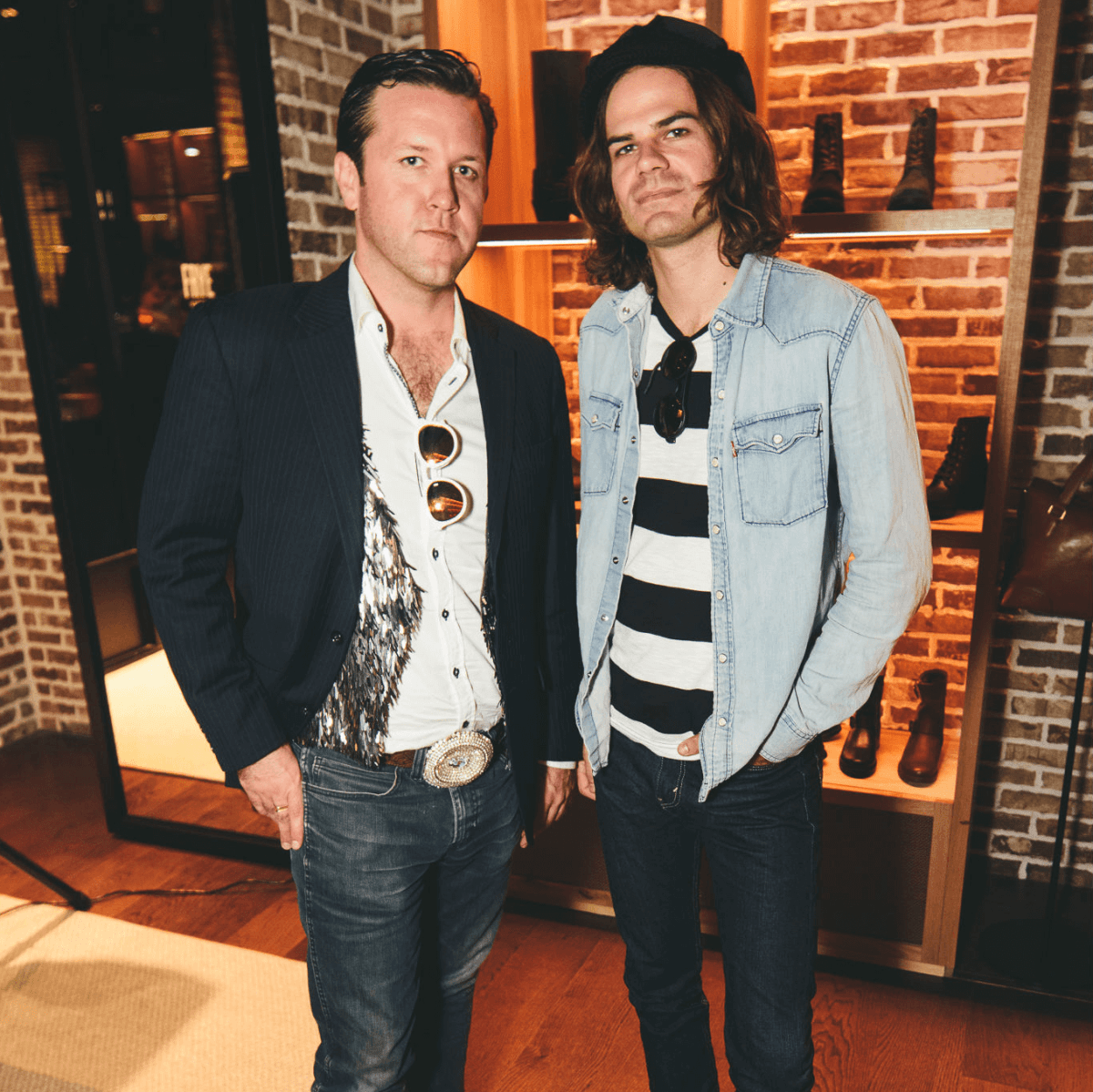 The Frye Company Austin grand opening 2016 John Michael Schoepf Caleb Charles Campaigne