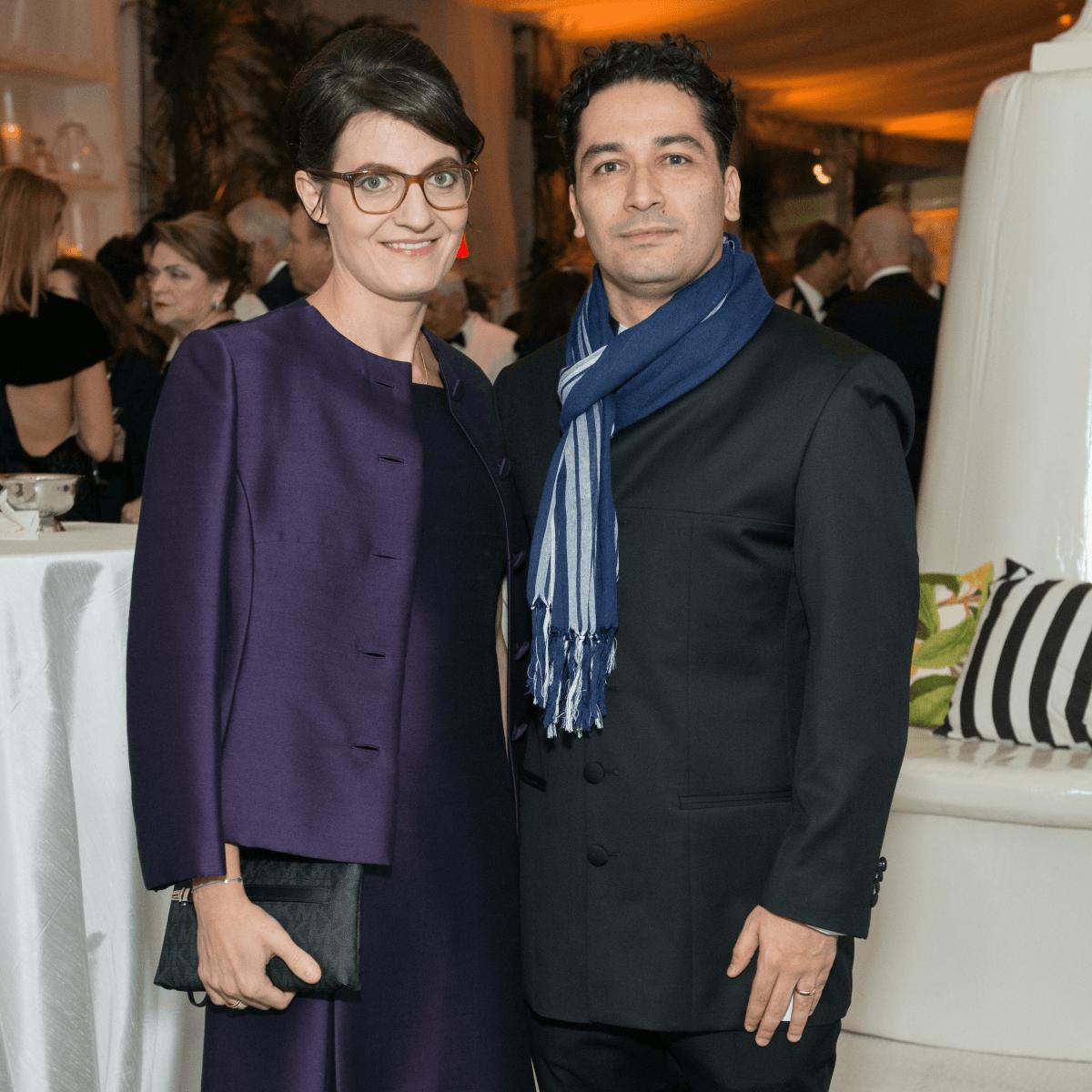 Jones Hall 50th Ball, Julia and Andres Orozco Estrada (Houston Symphony conductor)