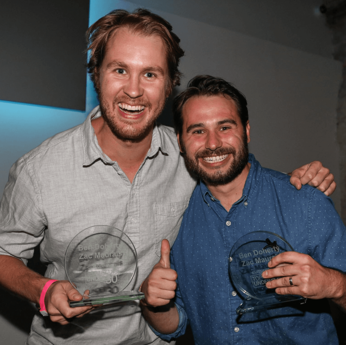 CultureMap Social Top Texans Under 30 Winners Favor Founders Zac Maurais Ben Doherty