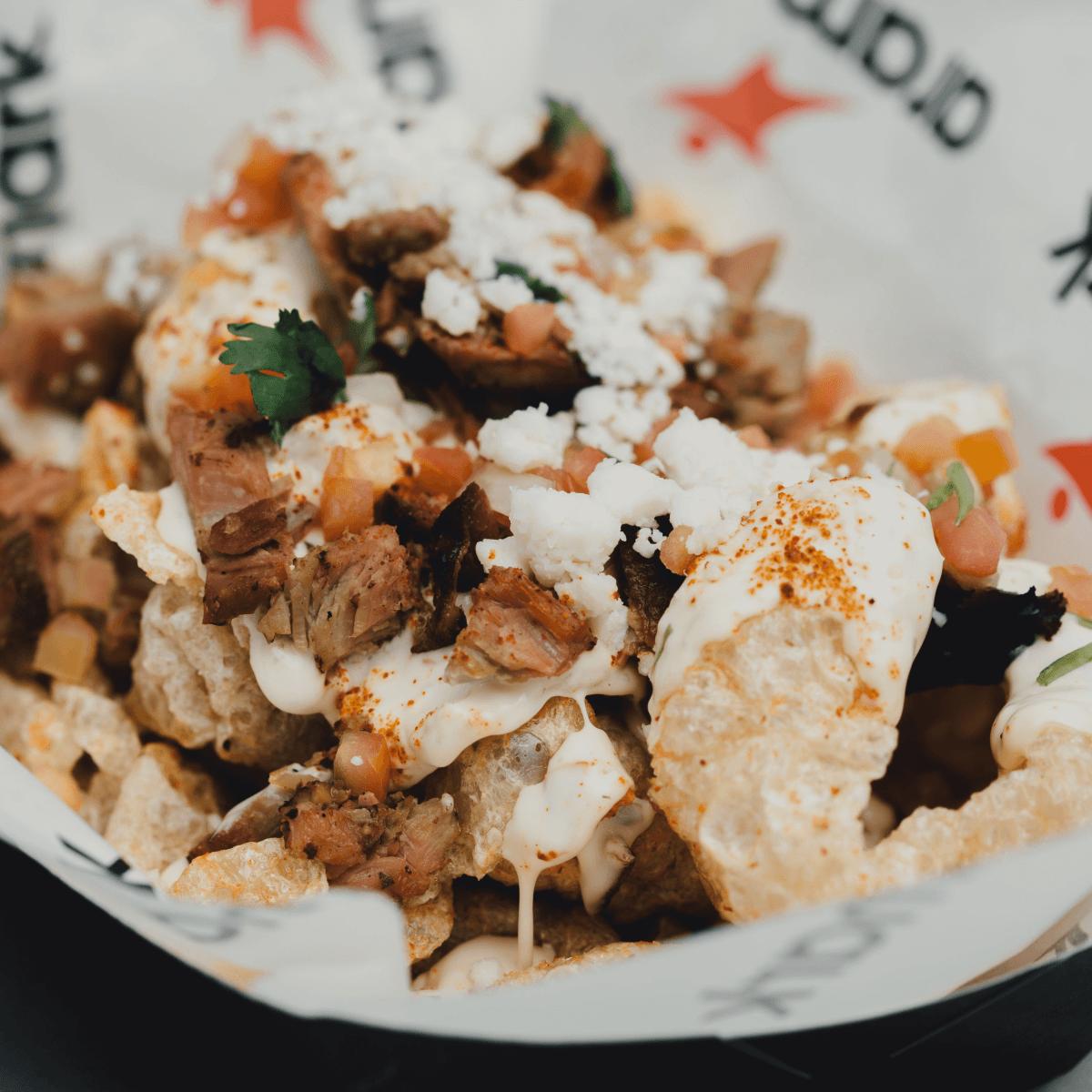 AT&T Center concessions 2016-2017 chicharrones nachos