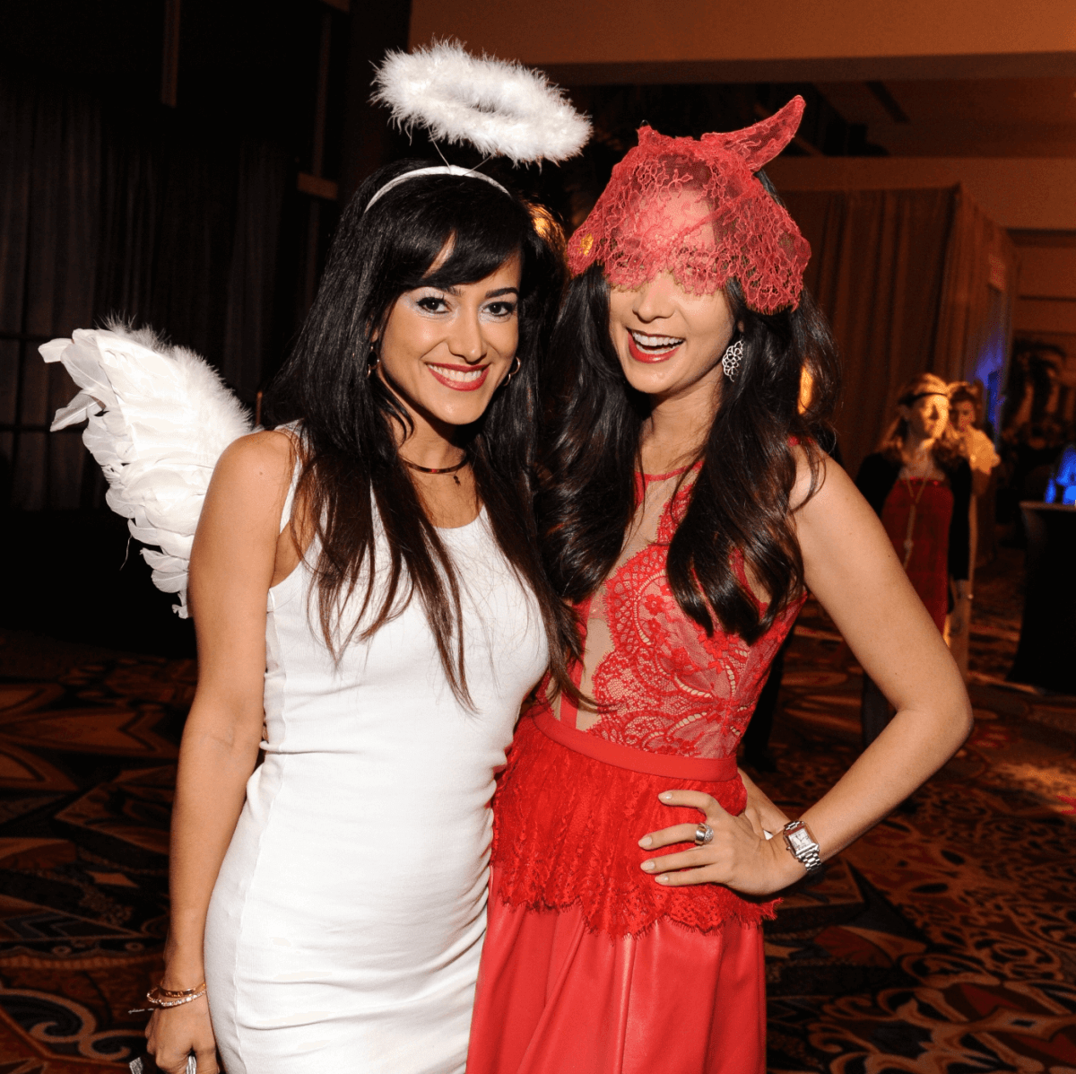 Houston, Ronald McDonald House Boo Ball, Oct. 2016, Mariyam Khreibani, Hasti Taghi