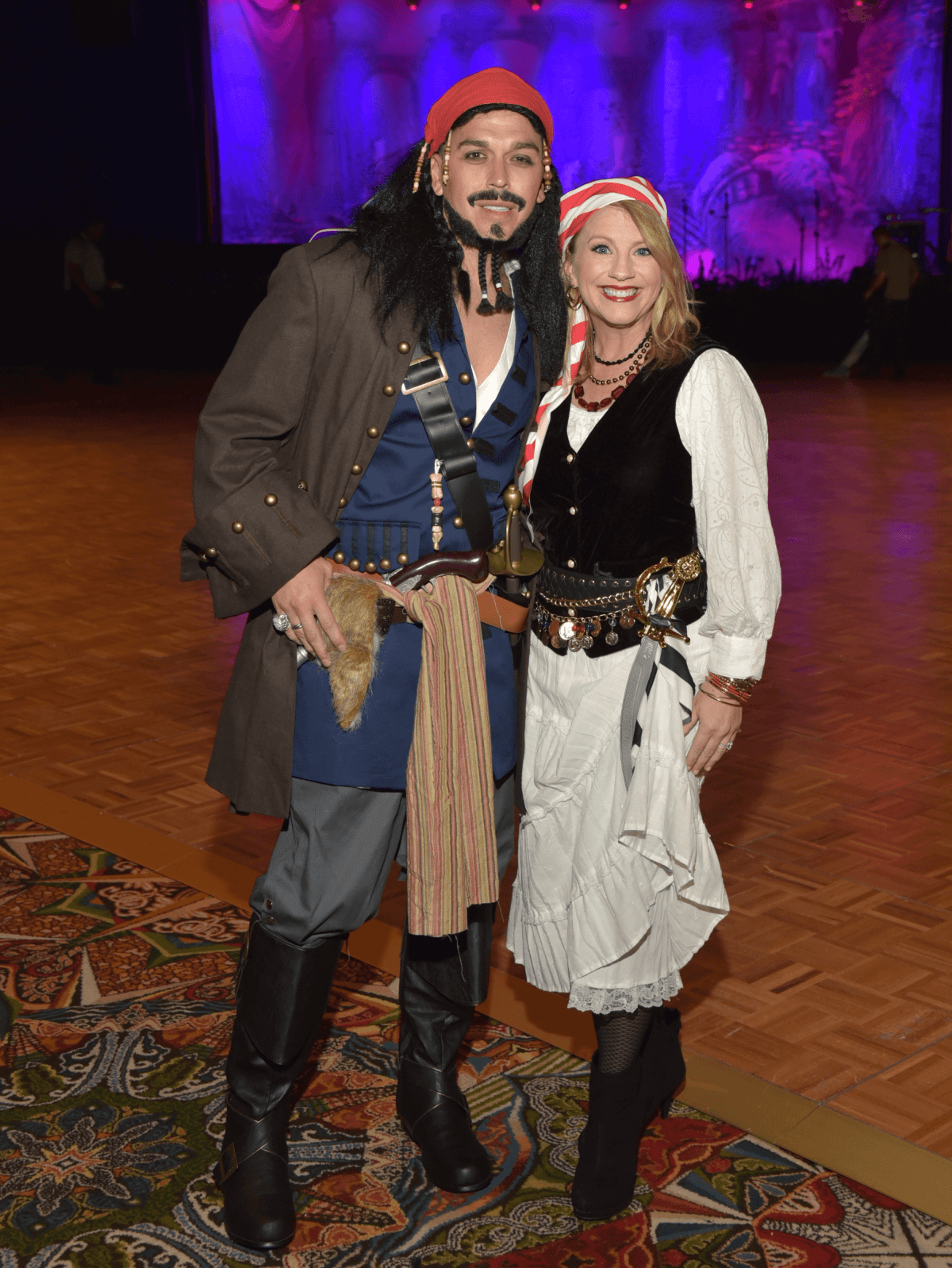 Houston, Ronald McDonald House Boo Ball, Oct. 2016, Jan Mendenhall, Oniel Mendenhall