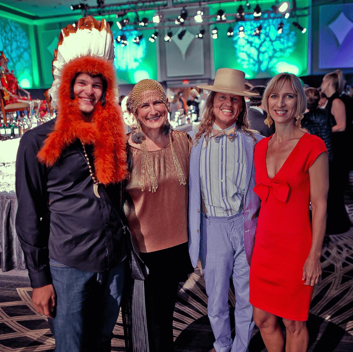 Houston, Orange Show gala, Oct 2016, Luke Garner, Claire Cusack, John Kerr Smither, Anne Hyde