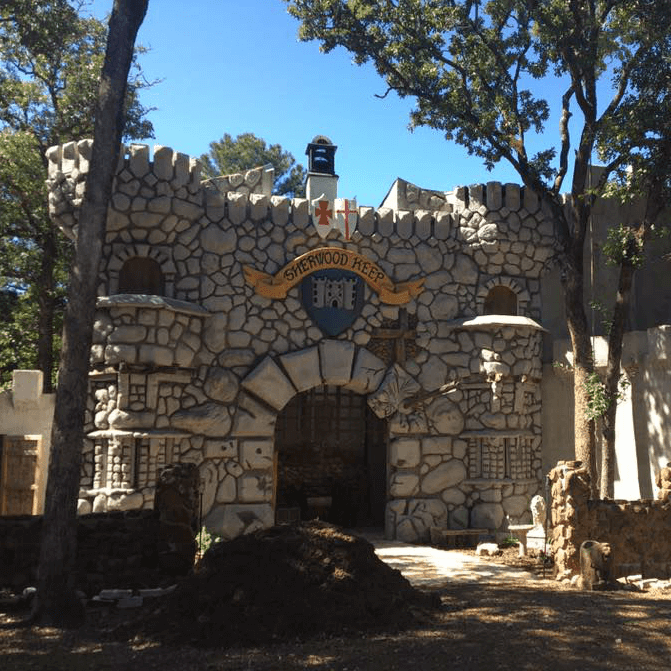 Sound on Sound Fest Sherwood Forest Faire castle