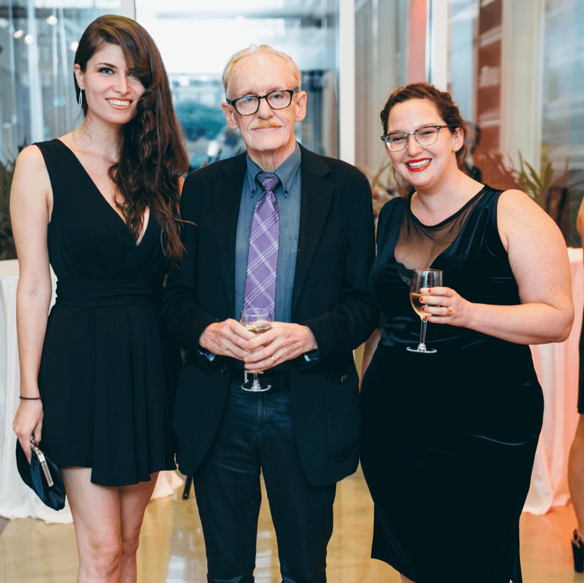 Gulf Coast Journal gala, Luisa Muradyan Tannahill, Peter Schjeldahl, Erika Jo Brown
