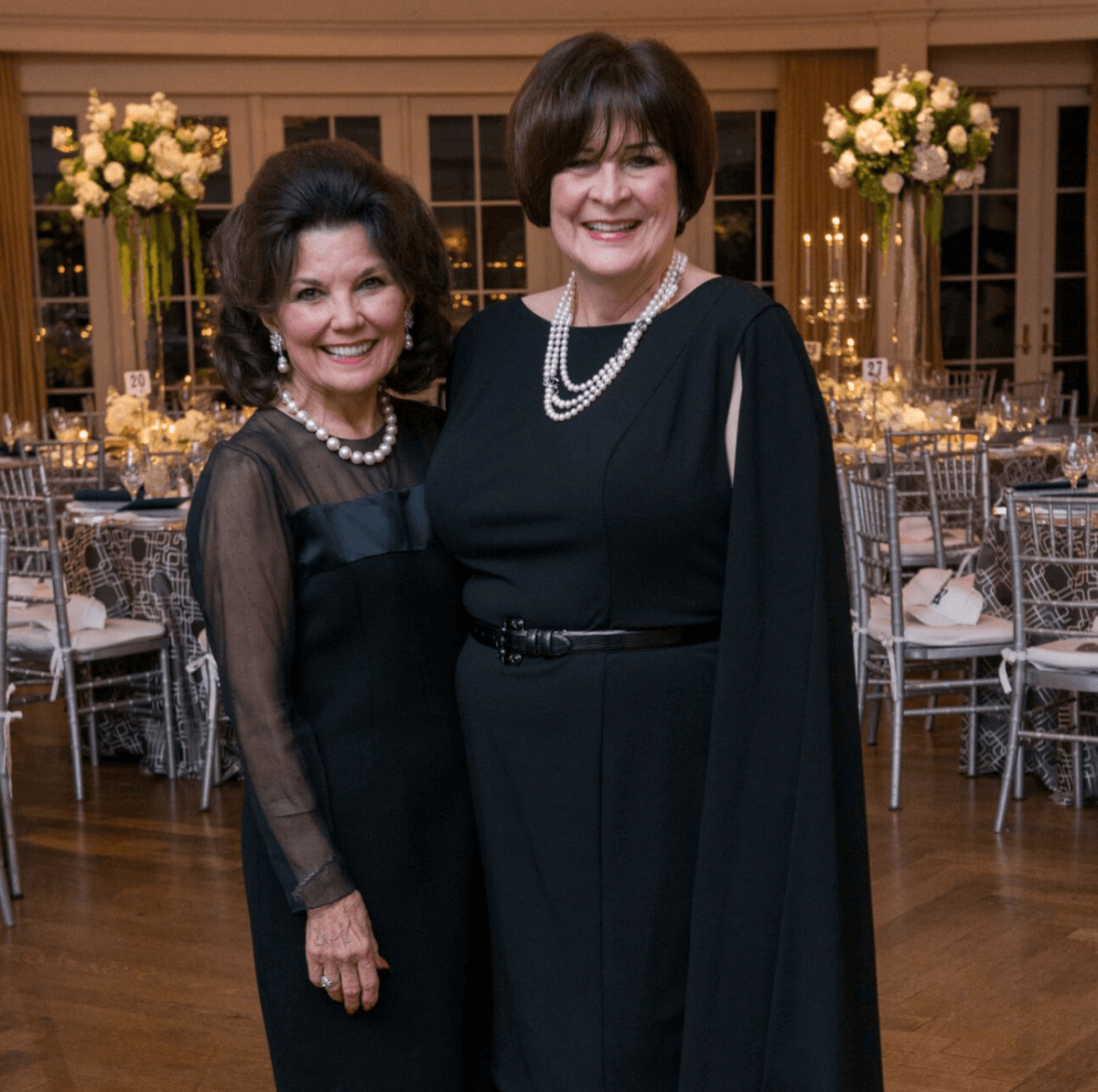 Linda McReynolds, Cynthia Allshouse at Rice Honors Gala