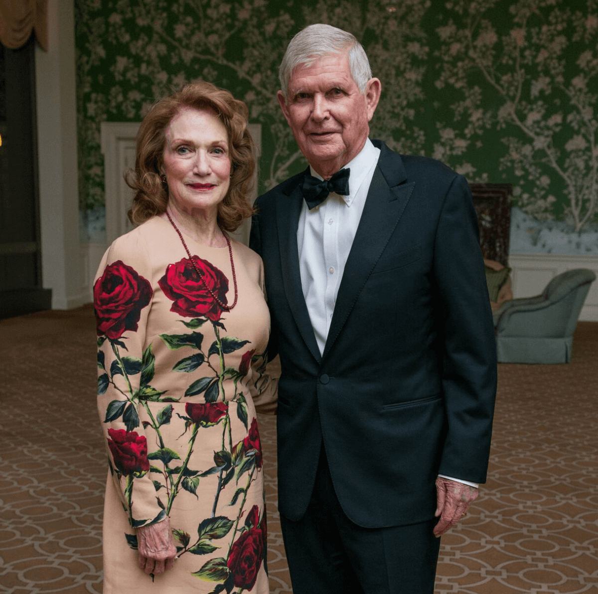Isla and Tom Reckling at Rice Honors Gala