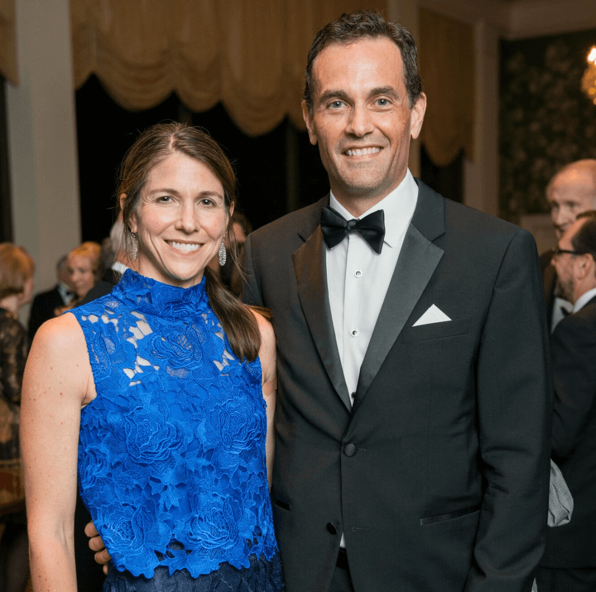 Jill and Joe Karlgaard at Rice Honors Gala