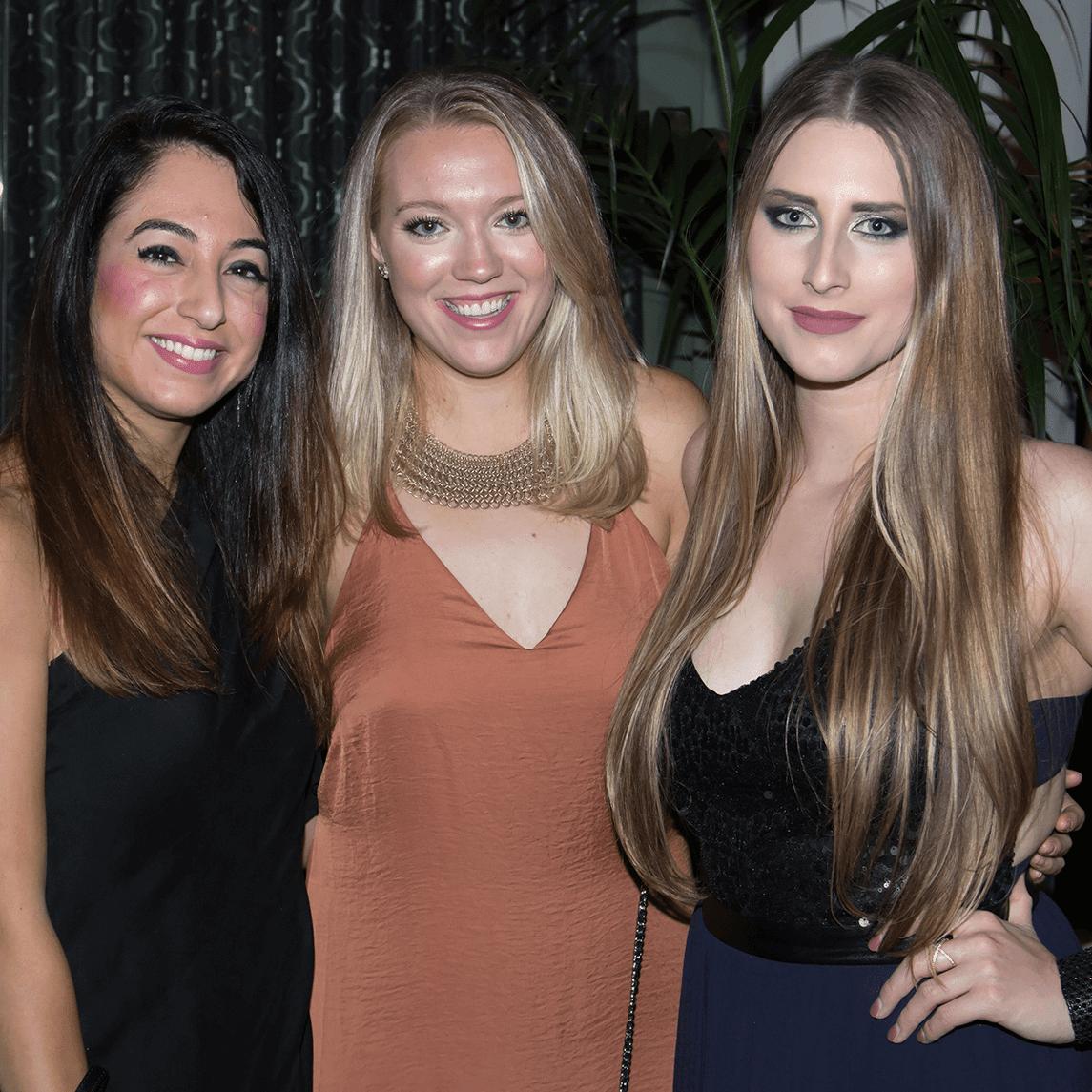 Pariya Renner, Claire Bauman, Reaghan Belfour