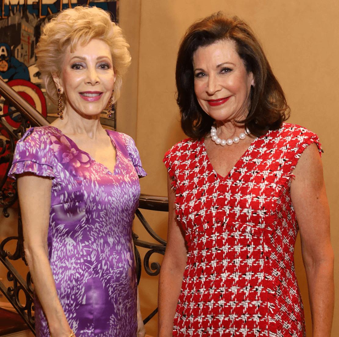 Houston, Barbara Bush Literacy Foundation Guild Tea, Nov. 2016, Margaret Alkek Williams, Betty Hrncir