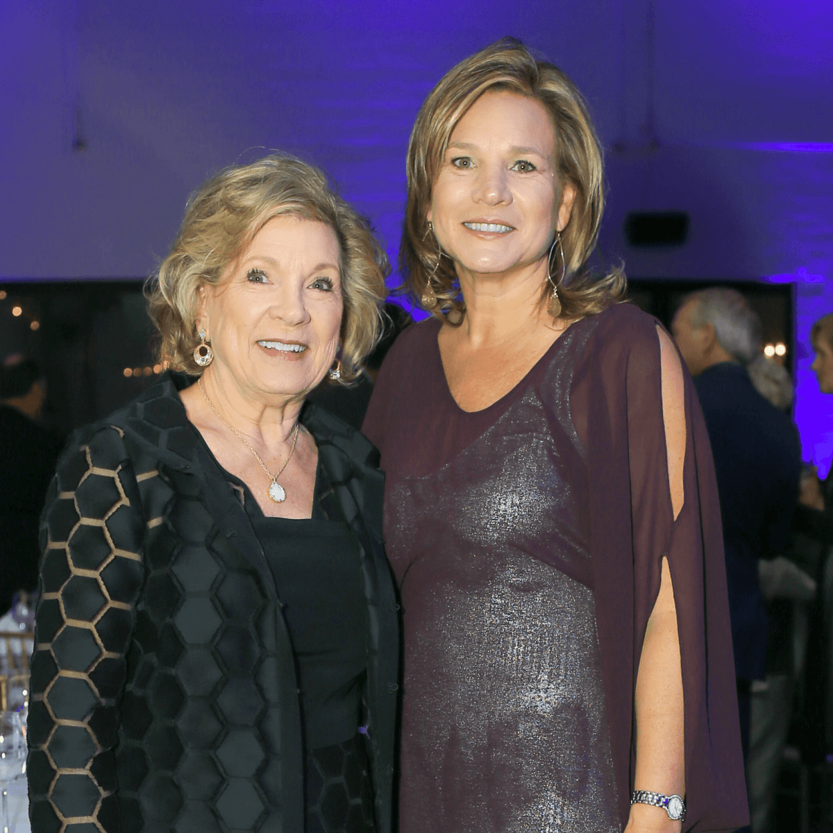 Marianne Staubach, Jennifer Staubach Gates, 2016 Champion of  Human Rights Award recipient