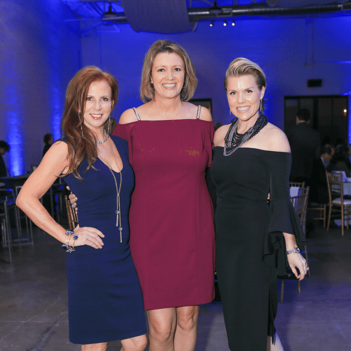7 th  Annual Gala co-chairs Elizabeth Weathersby and Melissa Green  with  Lana  Byrne, honorary chair