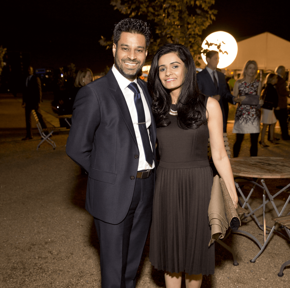 Houston, Buffalo Bayou Preservation gala, Nov. 2016,  Faisal Momin, Asha Momin