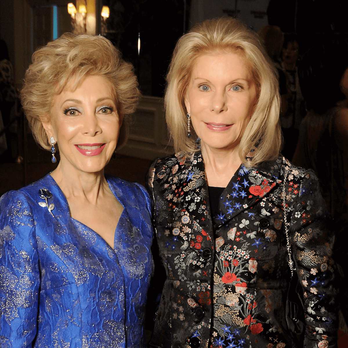 Margaret Alkek Williams and Frances Marzio/TEACH DINNER
