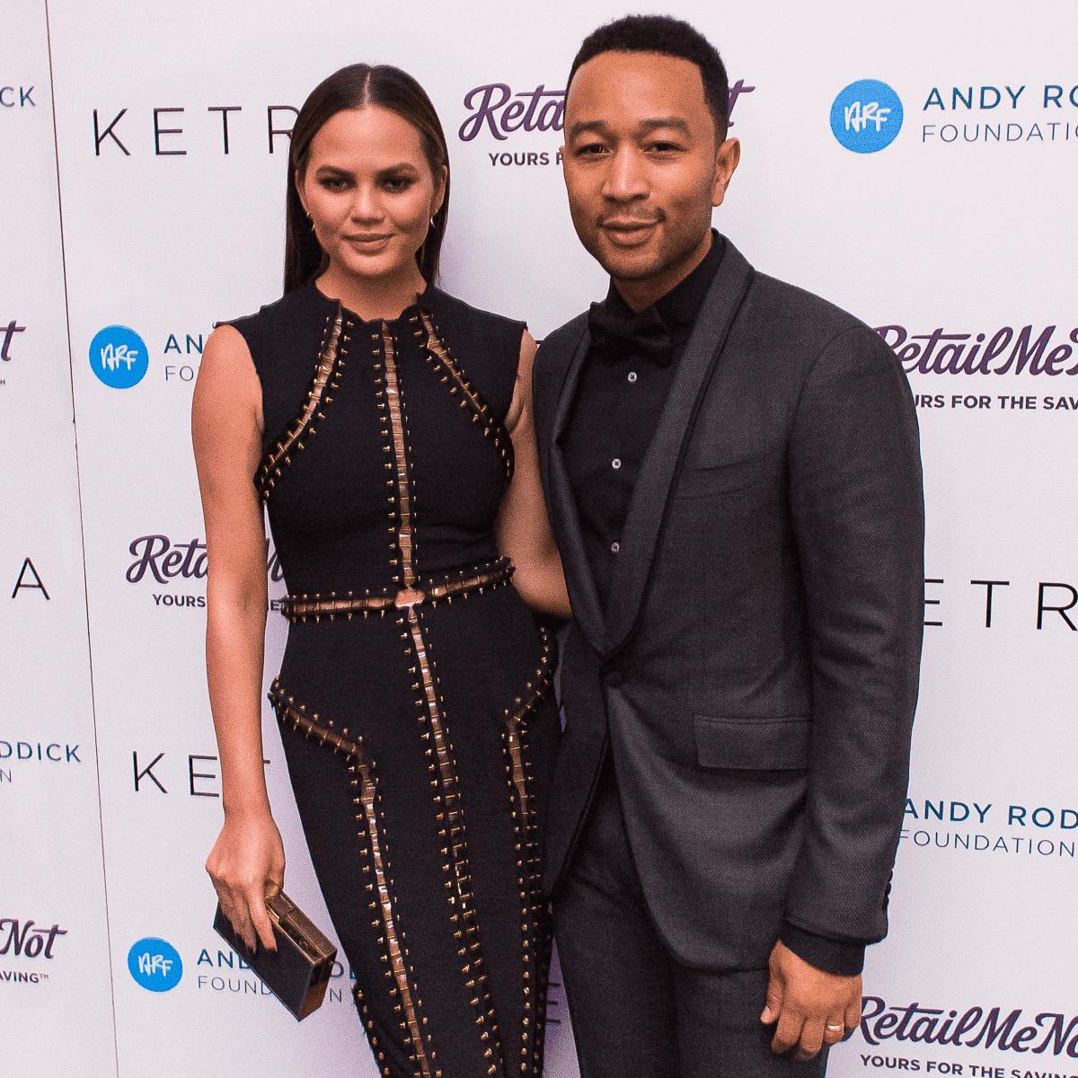 Andy Roddick Foundation Gala 2016 Chrissy Teigen John Legend