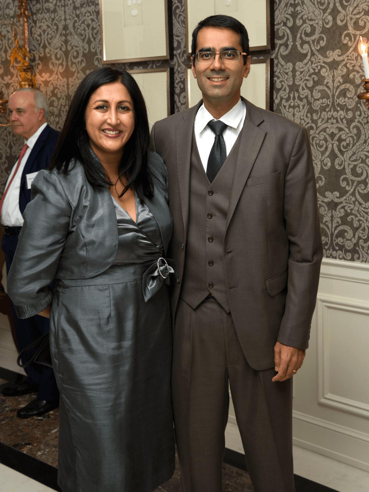 Houston, Legal Community's Harvest Celebration, Nov 2016, Sameera Mahendru, Ashish Mahendru