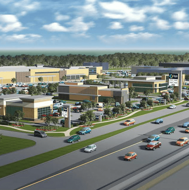 Sam's Club rendering