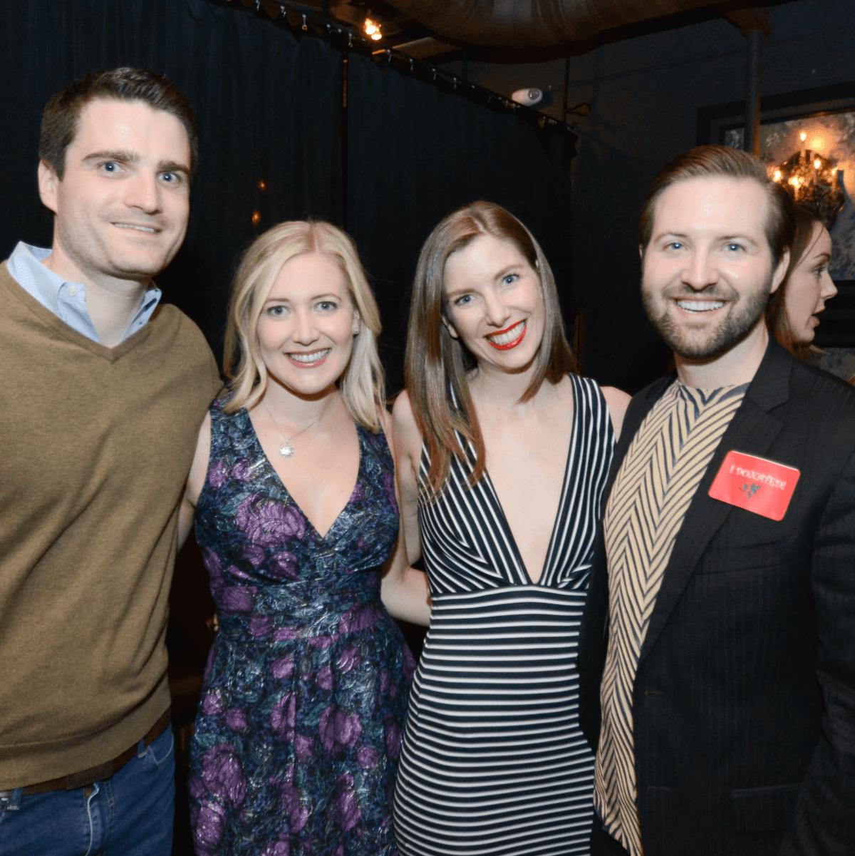 1.Marcus Skelly, Kendall Kinsman, Megan Gallman, Robert Gallman
