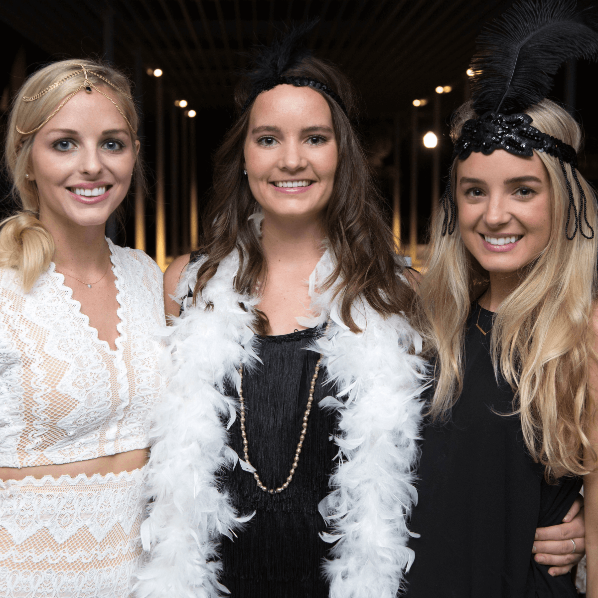Houston, Urban Green's Gatsby in the Gardens, Nov 2016, Emily Tamlyn, Molly Wickman, Holly Kuhn