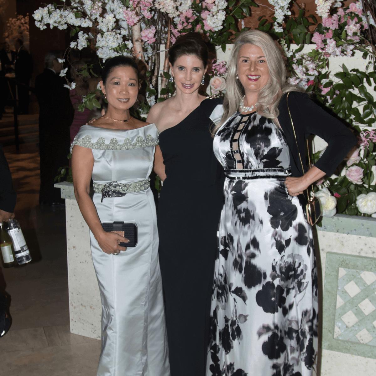 Kunthear Douglas, Jeri Kleinman (Fendi), Judy Ellis