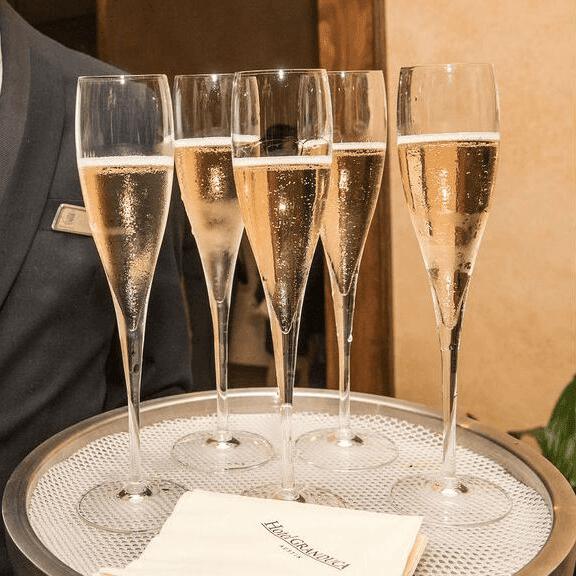 Champagne Edith Royal's 90th birthday