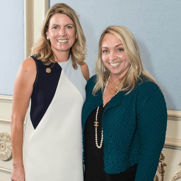 Julie Bagley and Meredith Mosley