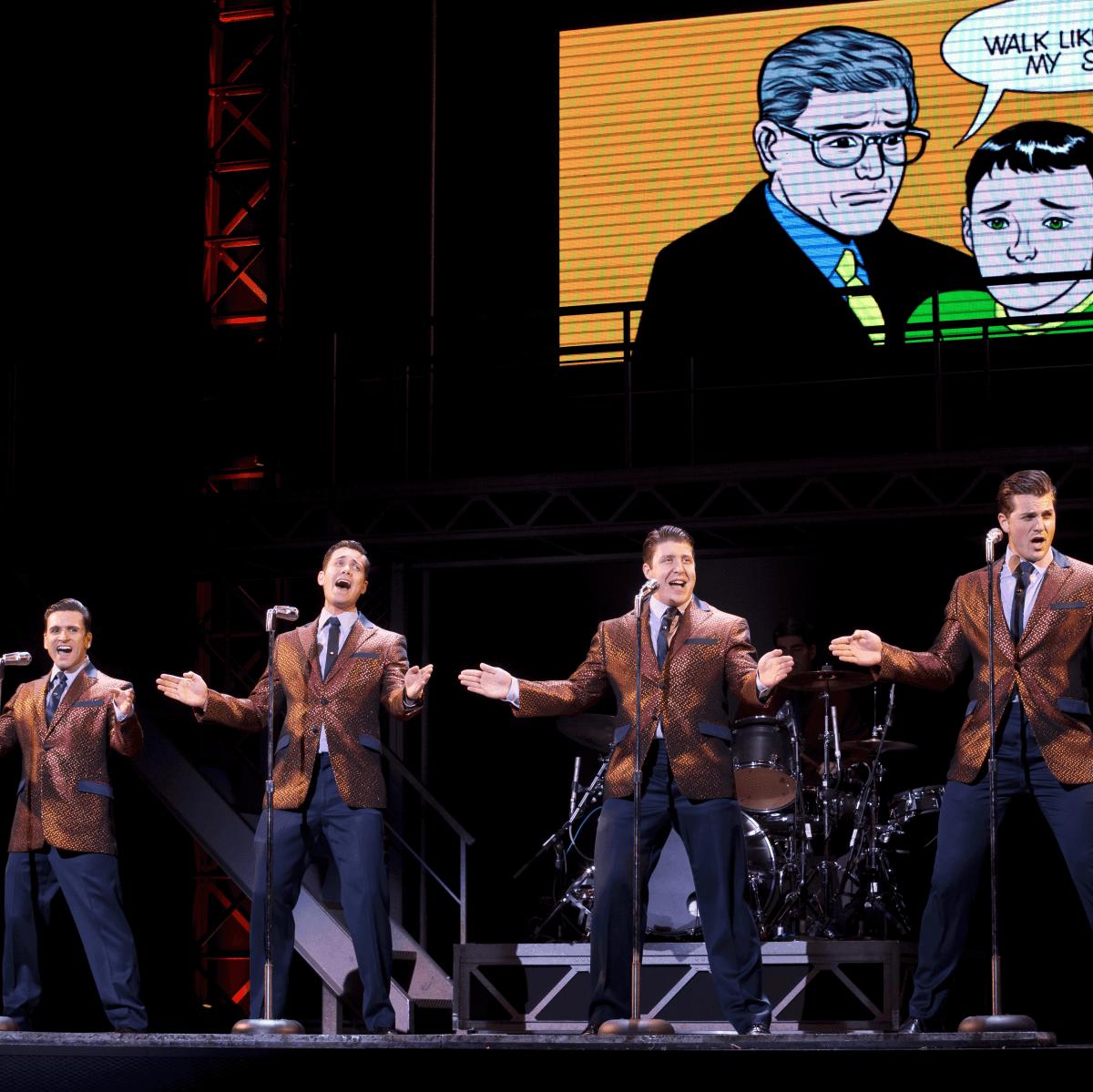 Jersey Boys Broadway at Hobby Center